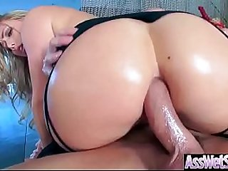 Anal Sex With Horny Big Butt Oiled Girl (AJ Applegate) video-03