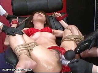 Japanese Bondage Sex - Extreme BDSM Punishment of Asari (Pt. 14)