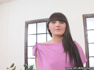 DOUBLEVIEWCASTING.COM - SYLVIA GETS EXTREMELY WILD (POV VIEW)
