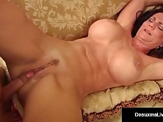 Big busty milf deauxma fucking with young bloke
