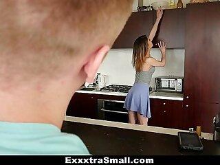 ExxxtraSmall - Tiny Teen Slut Takes Huge Cock