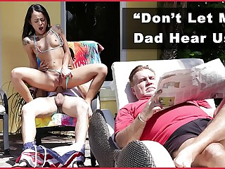 DON'T FUCK MY DAUGHTER - Teen Holly Hendrix Has Anal Fun Dad's Friend