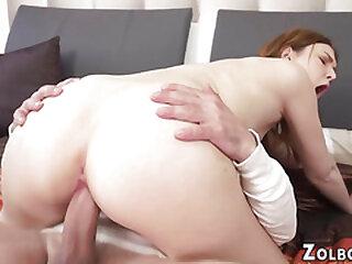 Teen slut gets rimmed and rides