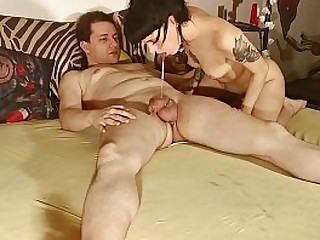 I love to throat and ride daddys tasty dick then d. his sperm pt2 HD