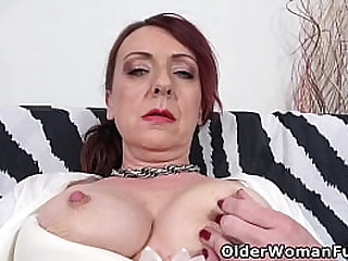 Euro mature Coco plays with her hard nipples and hot pussy till she is ready for a big dildo (brand NEW video available in Full HD 1080P). Bonus video: Euro milf Alice Sharp.