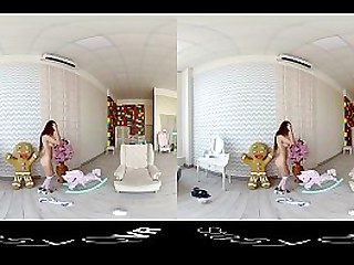 VR compilation of beautiful russian hotties teasing in this HD StasyQ video
